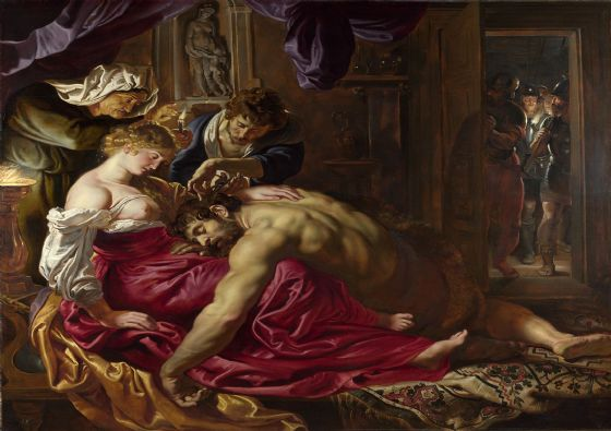 Rubens, Peter Paul: Samson and Delilah. Fine Art Print/Poster. Sizes: A1/A2/A3/A4 (00551)